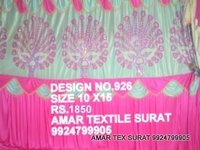 Pandal decoration parda fabric
