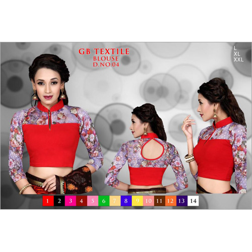 Designer Ladies Printed Blouses