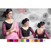 Ladies Cotton Designer Blouse