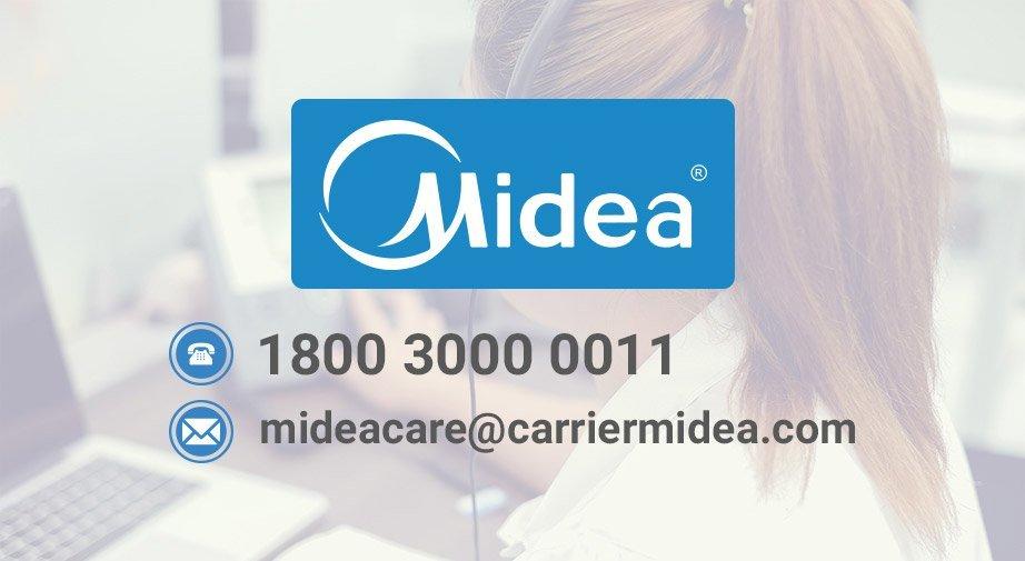 MIDEA CASSETTE AC 1.5 TON 2 STAR