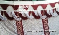 Mandap sidewall fabric