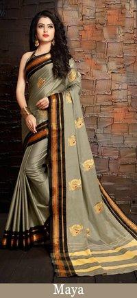Latest Pure Cotton Silk Saree