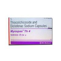 Thiocolchicoside with Diclofenac sodium Capsules