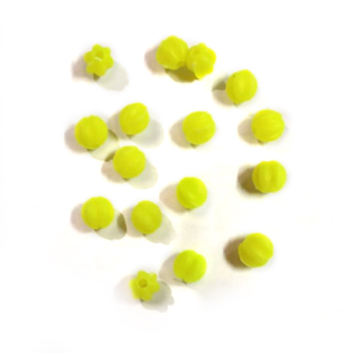 8mm Colorful Plastic Beads