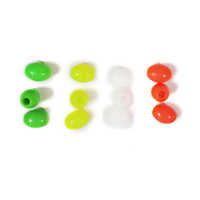 Oval Color Beads
