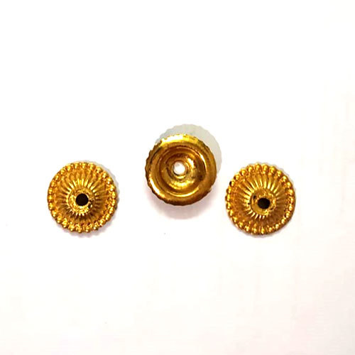 Golden Foil Beads