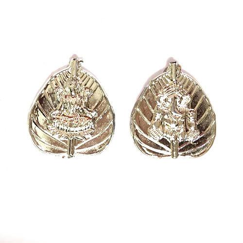 Laxmi Ganeshji leaf Design Beads