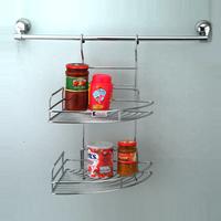 Kitchen corner Rack Shelf