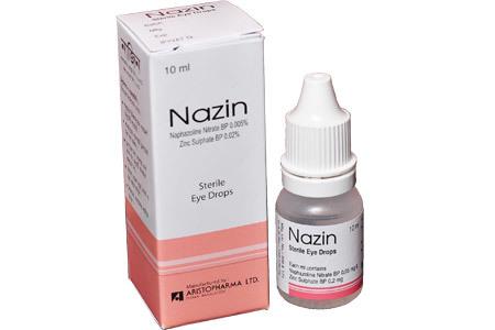 Nazin Eye Drop Certifications: Who Gmp