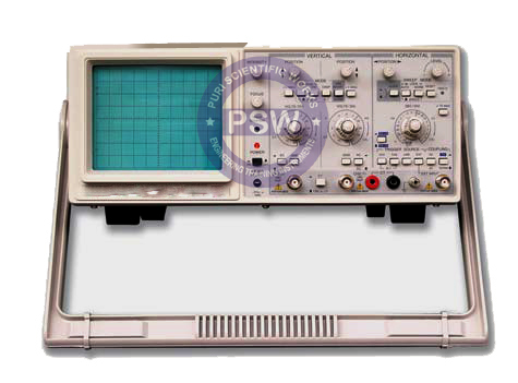 Oscilloscope 20Mhz Dual Trace with Component Tester