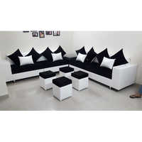 Stylish L Shape Sofa Set
