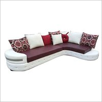 Designer Leather Corner Sofa Set