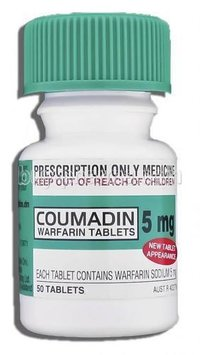 Coumadin Warfarin Tablets