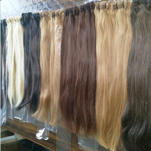 Bleached Hair Weft Extension