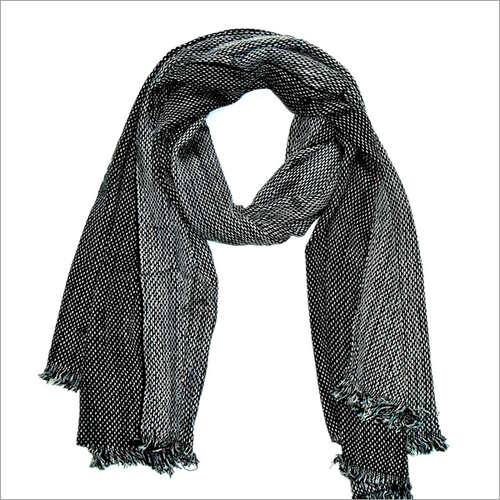 Mens Black Scarves