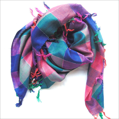 Multicoloured Square Scarves