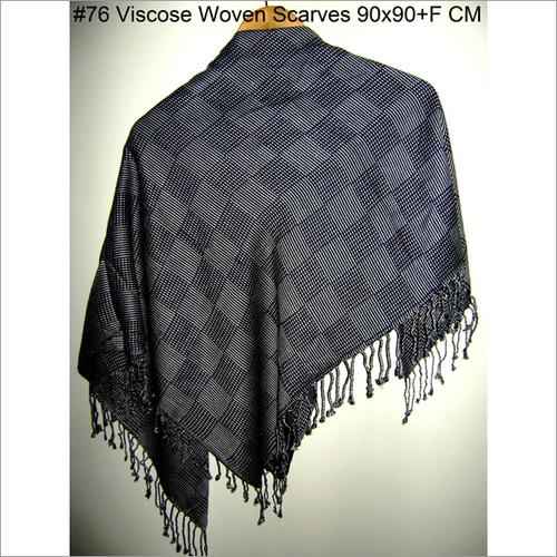 Black Square Scarves