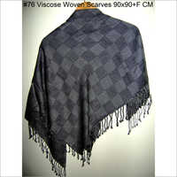 Black Square Scarves