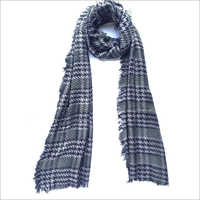 Checked Viscose Scarves