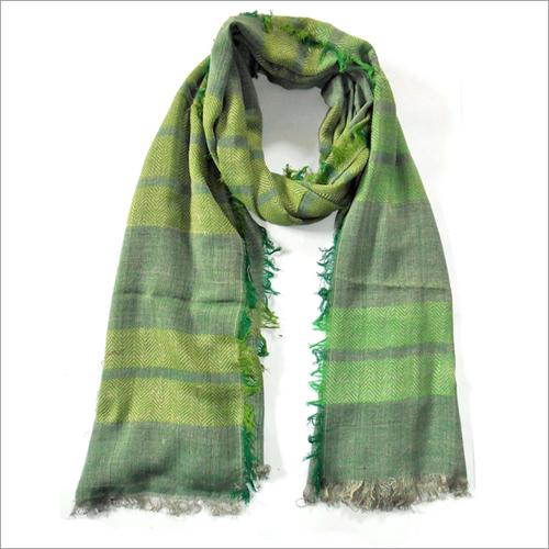 Green Viscose Scarves