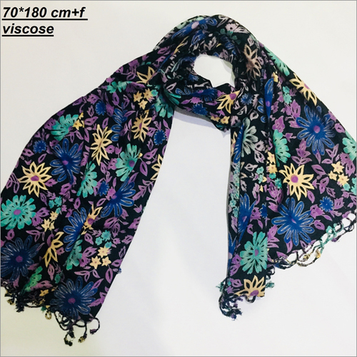 Floral Ladies Printed Stole