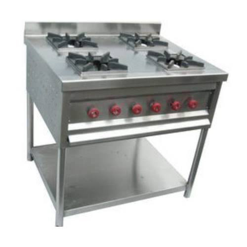 4 Burner Multi Cooker Gas Stove