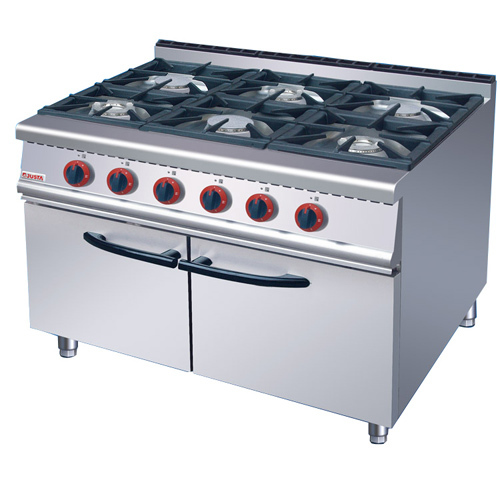 6 Burner Multi Cooker Gas Stove