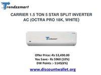 Carrier split 1 ton 3star octro pro