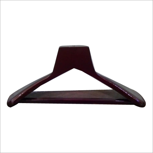 Maroon Glossy Wooden Hanger