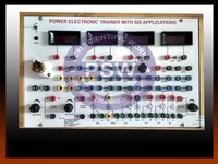 Power Electronics Trainer with 6 applications