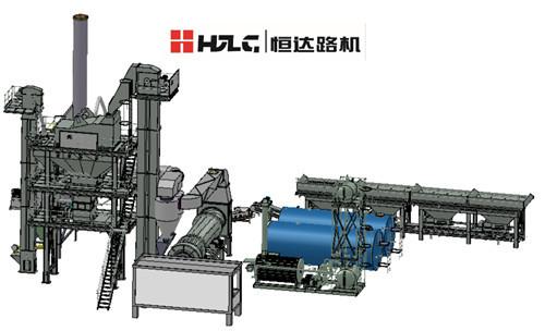 80 T H Asphalt Mix Plant