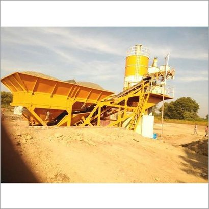 Yellow Mobility Compact Fully Automatic Batching Plant