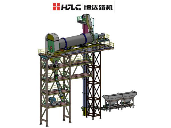 Asphalt Hot Recycling Plant