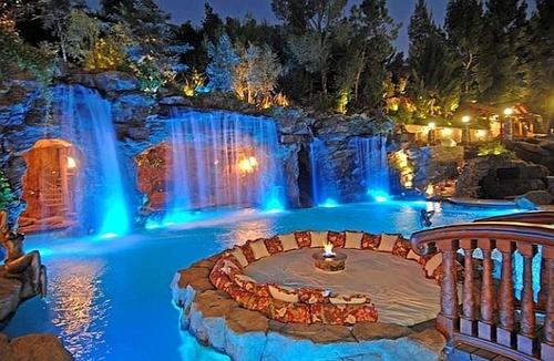Artificial Water Falls
