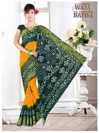 Wax Batik Saree Catalog