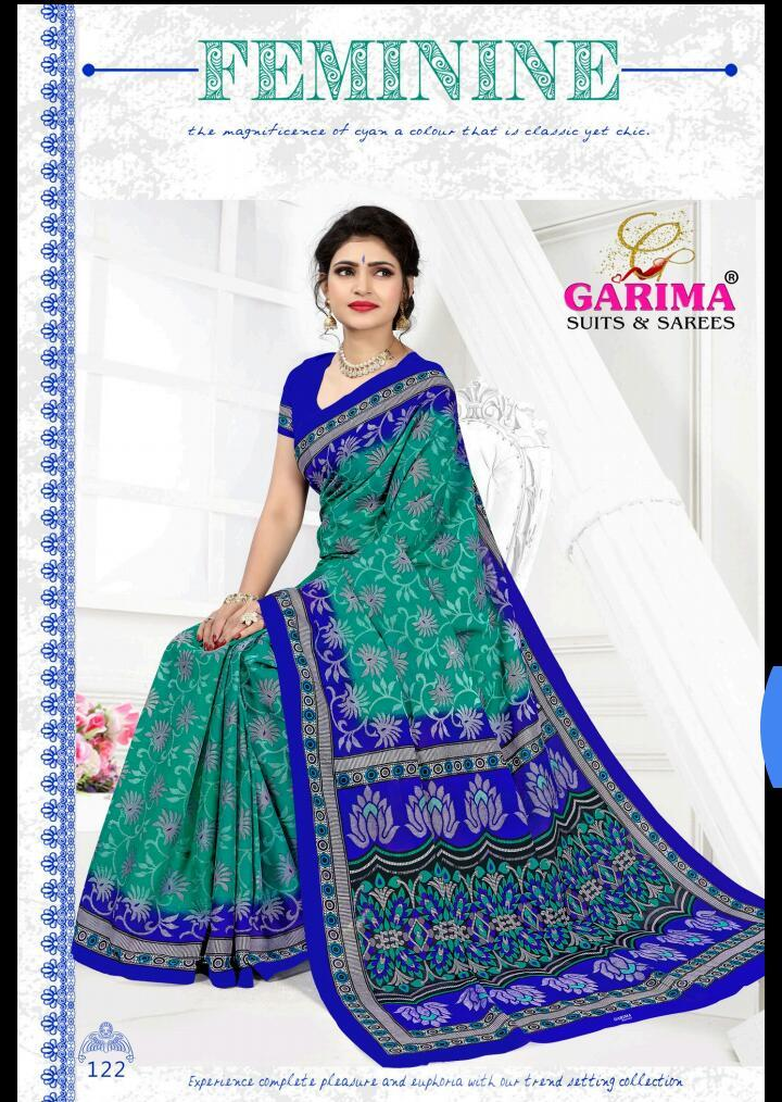 Garima Cotton Printed Saree Catalog