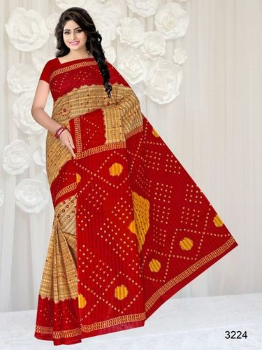 Printed Cotton Sarees Catalog