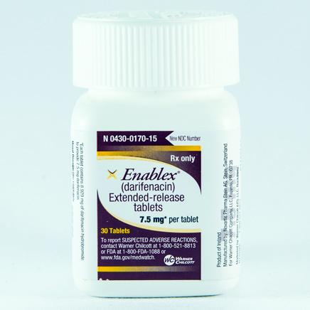 Enablex Darifenacin Tablets