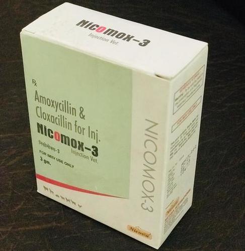 AMOXICILLINI CLOXACILLIN 3GM NICOMOX