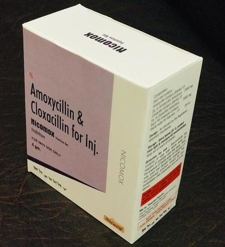 AMOXYCILLIN CLOXACILLIN 4GM NICOMOX