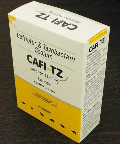 CEFTIOFUR&TAZOBACTAM  SODIUN 1125MG  CAFI-TZ