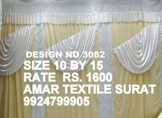 Latest Fancy mandap parda cloth