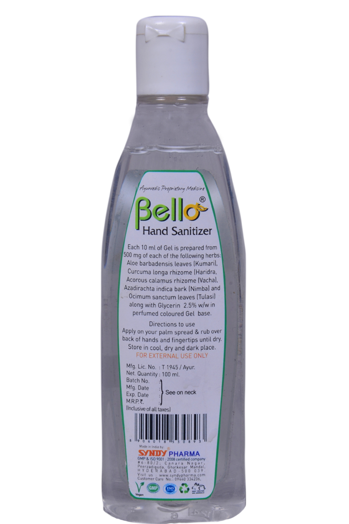 Bello Herbal Hand Sanitizer