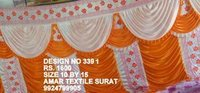 Mandap fancy parda fabric