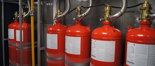 Novec Fire Suppression System
