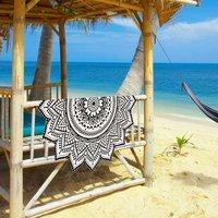 Bohemian Hippie Indian 100% Cotton Mandala Beach Towel Tapestry