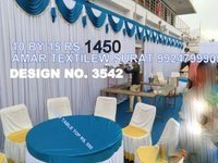 Tent parda design cloth