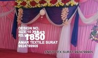 Wedding parda sidewall designs