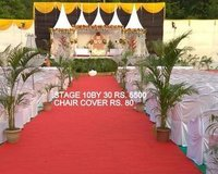 Wedding stage parda design
