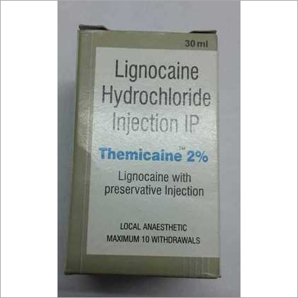 Lignocaine Hydrocloride Injection